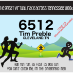 Virtual Race Bib